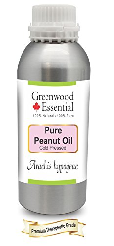 Greenwood Essential Pure Peanut Oil (Arachis hypogeae) 100% Natural Therapeutic Grade Cold Pressed 300ml (10.1 oz)