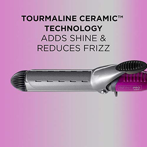 Infinitipro By Conair Nano Tourmaline Ceramic Curling Iron, 1 1/4 Inch Curling Iron