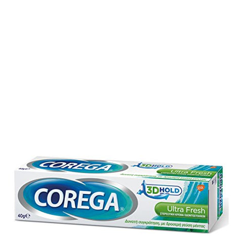 Corega Ultra 3D Hold Comfort adhensive cream