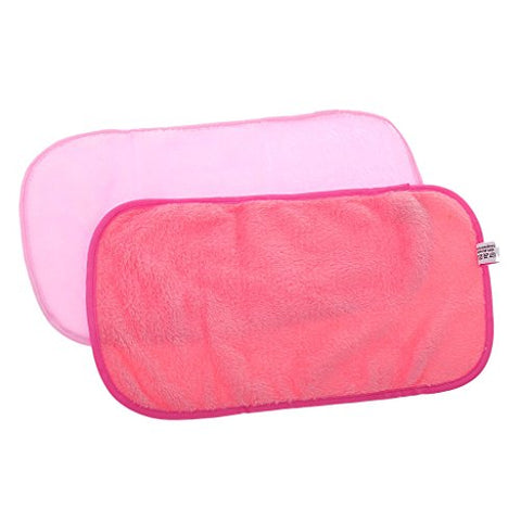Inzopo Generic Microfibre Face Cloth of Makeup Removal of Cleaning Washcloth Towels, Makeup Makeup Accessory Pink