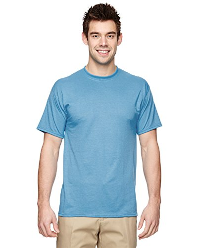 Jerzees 21 Adult Sport Polyester T Shirt44; Light Blue44; Large