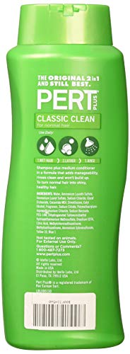 Pert Classic Clean 2 In 1, For Normal Hair 25.4 Oz