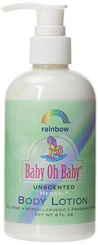 Rainbow Research Body Lotion Organic Herbal, 8 Fluid Ounce