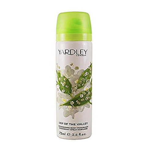 Yardley - Lily of the Valley Refreshing Body Spray 75ml - AMC47231 by Yardley