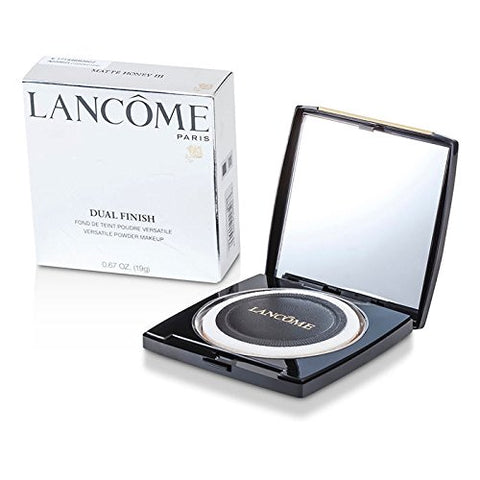 Lancome Dual Finish Versatile Powder Makeup - # Matte Honey III for Women - 0.67 oz