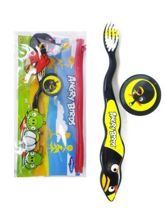 Angry Birds Dental Travel Kit, Black