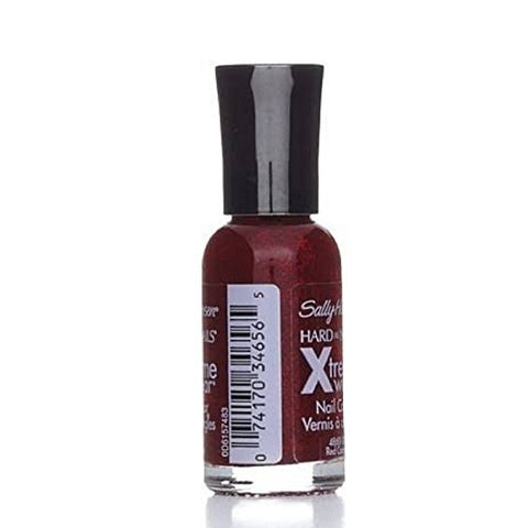 Sally Hansen Hard as Nails Xtreme Wear, Red Carpet [390], 0.4 oz ( Pack of 3)