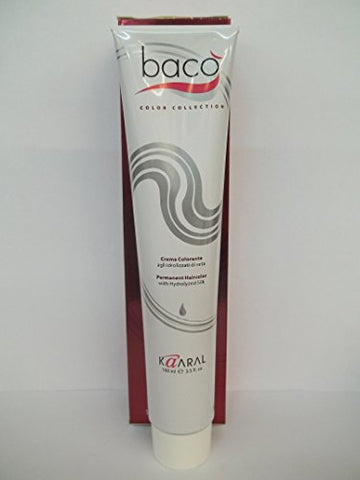 Baco Color Collection - Permanent Color Enriched with Hydrolyzed Silk - 3.2 Fl. Oz. Tubes - Shade Selection: 9.30 - Very Light Golden Blonde