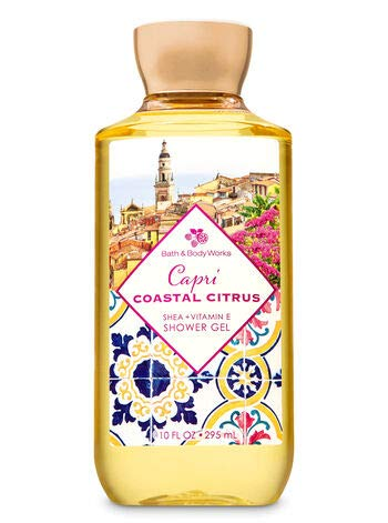 Bath and Body Works Capri Coastal Citrus Deluxe Gift Set Body Lotion - Body Cream - Fragrance Mist and Shower Gel - Full Size