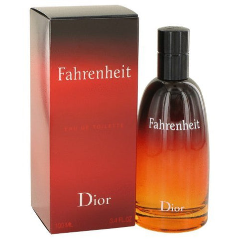 Fahrenheit By Christian Dior Eau De Toilette 3.4 Oz For Men