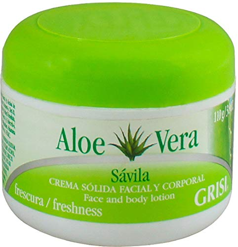 Grisi Aloe Vera Moisturizing Beauty Cream, 3.8 oz (Pack of 9)