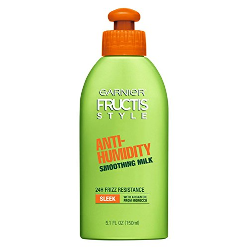 Garnier Fructis Style Anti-Humidity Smoothing Milk 5.10 oz (Pack of 5)