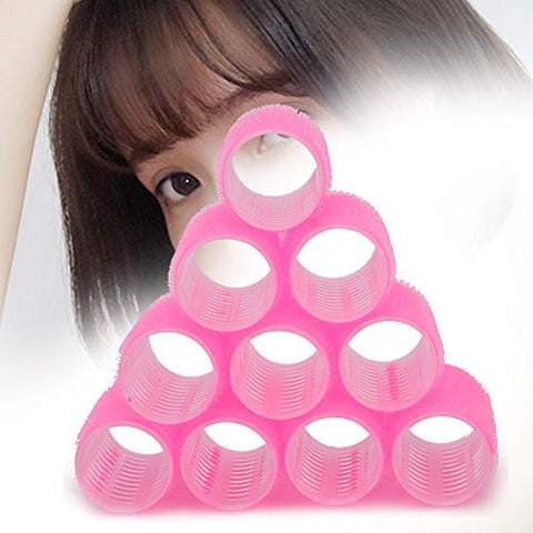 Hair Roller Set, 10 Pcs Hair Curlers Hair Curling Styling Tools, Self Grip