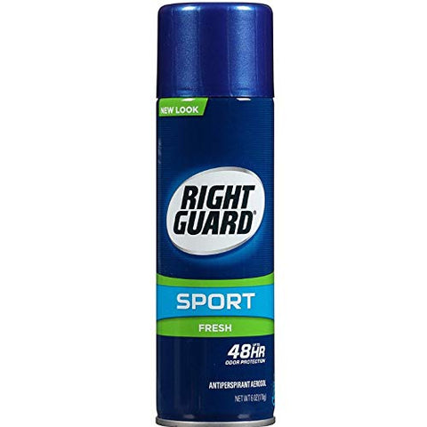 Right Guard Antiperspirant Spray, Sport Fresh 6 oz(Pack Of 3)