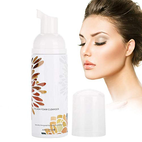 Grafting Eyelash Cleansing Puffs Beauty Eyelash Mousse Tool Makeup Remover Foam No Tears Formula
