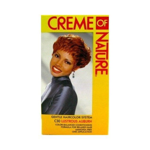 Creme of Nature Gentle Hair Color System, Lustrous Auburn