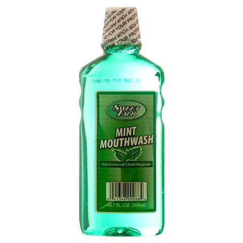 Sweet Talk New 306692 Mint Mouthwash 16.7Z (12-Pack) Oral Care Wholesale Bulk Health & Beauty Oral Care Apparles.