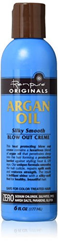 Renpure Originals Argan Oil Silky Smooth Blow Out Creme -- 6 fl oz