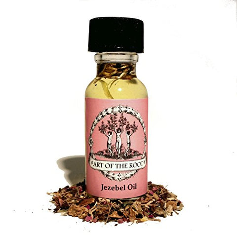 Jezebel Oil 1/2 oz to Attract Wealthy Men & for Business Success Hoodoo Voodoo Wicca Pagan Conjure Santeria