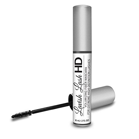 Lavish Lash Hd By Hairgenics  â Ultra Premium Volumizing Fiber Mascara For Extreme High Definition L