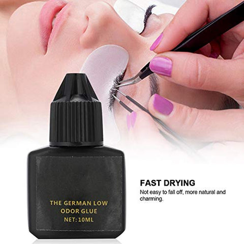 Eyelash Extension Glue, Semi Permanent Eyelash Glue False Eyelashes Glue Eye Lash Grafting Glue Fast Drying Strong Adhesive