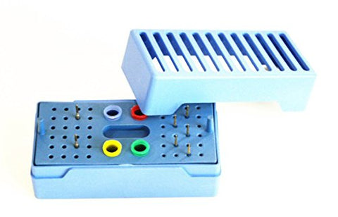 High Speed Needle Sterilizer Open Type Sterilising 48 Holes Disinfect For Dental Burs,Endo File And Gutta Percha Point