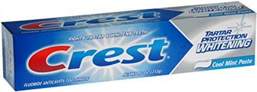 Crest Tar Sm Mnt Wht Size 8.2z Crest Tartar Protection Tartar Control Toothpaste Cool Mint Paste 8.2 Ounce