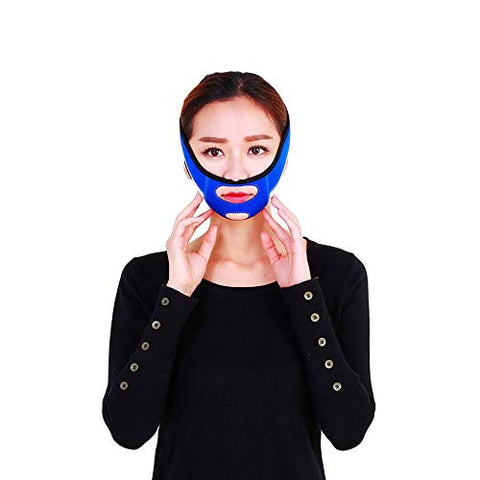 Chun Li Face-lifting Belt - Face-lifting Bandages Powerfully Enhance The Double-maxillary Facial Correction Tool, The Face-shaped Mask V-face Artifact V line Mask