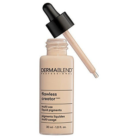Dermablend Flawless Creator Multi Use Liquid Foundation Makeup, 1 Fl Oz