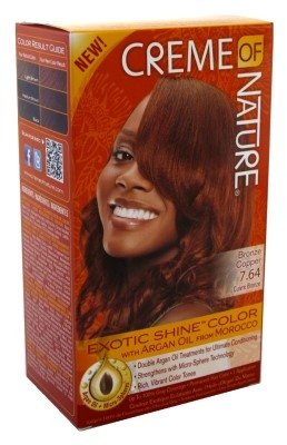 Creme Of Nature Color #7.64 Bronze Copper Exotic Shine (6 Pack)