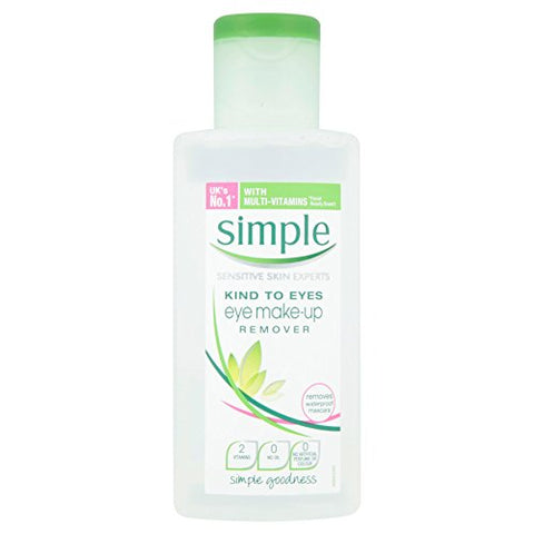 6 x Simple Kind to Eyes Eye Make-up Remover 125ml