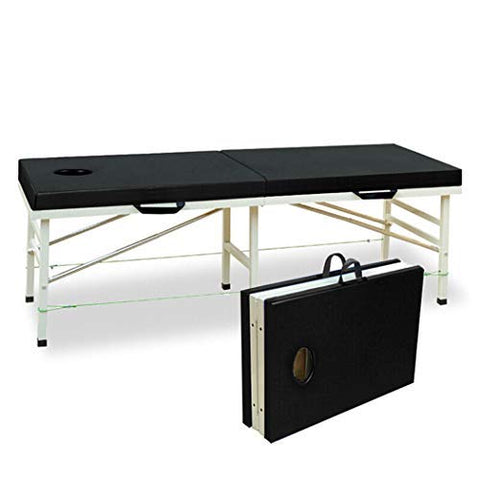 Portable Massage Bed Spa Bed Adjustable Massage Table Folding Spa Bed Facial Cradle Salon Bed 72