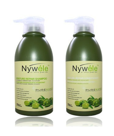 Nywele Moisture Repair Shampoo and Conditioner SET - 27 oz (800ml) Each by Nywele