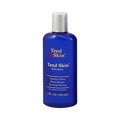 Tend Skin Razor Bump Solution, 4 Ounce, Post Shaving & Waxing, For Women & Men