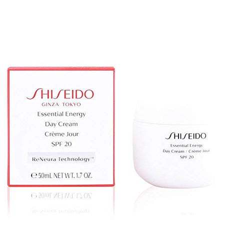 Shiseido Essential Energy Day Cream Spf 20 By Shiseido for Women - 1.7 Oz Cream, 1.7 Oz