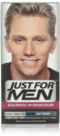 Just For Men Just For Men Hair Color Light Brown, Light Brown 1 each (Pack of 2)