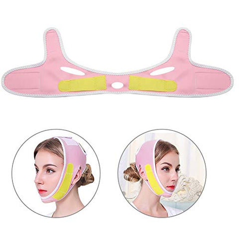 Face Lift Mask,Facial Firming Face Massage, Lifting Face To Eliminate Edema Sleep Mask Band, Firming Skin, Relieve Facial Edema, Tighten Double Chin Shaping v Face