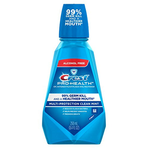 Crest Pro-Health Multi-Protection CPC Antigingivitis/Antiplaque Mouthwash Clean Mint