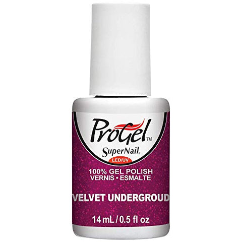 SuperNail ProGel Polish Velvet Underground - .5 fl oz / 14 mL