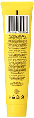 Certified Organic Paw Paw & Honey Balm 0.88 oz by Suvana Beauty