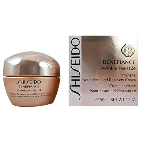 Shiseido Benefiance Wrinkle Resist Intensive Nourishing and Recovery Cream, 1.7 Ounce