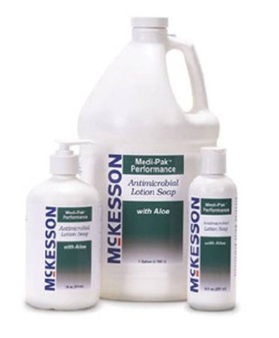 McKesson Performance Antimicrobial Hand Soap With Aloe 18 Oz Pump - Model 53-28087