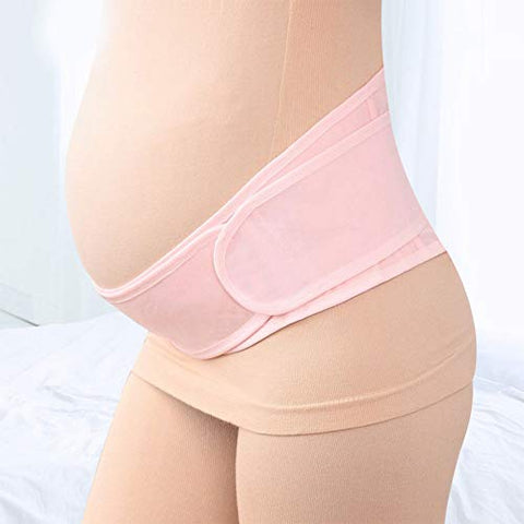 Women Pregnant Maternity Abdominal Support Belt,Back Support,Breathable Waist Protection Band
