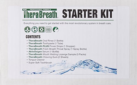 TheraBreath Starter Kit, 1 Kit