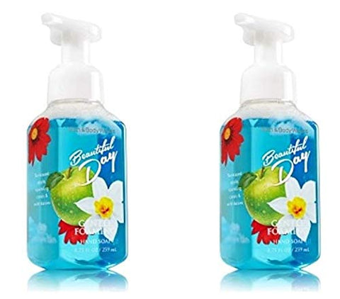 Bath & Body Works Gentle Foaming Hand Soap Beautiful Day (2 Pack)