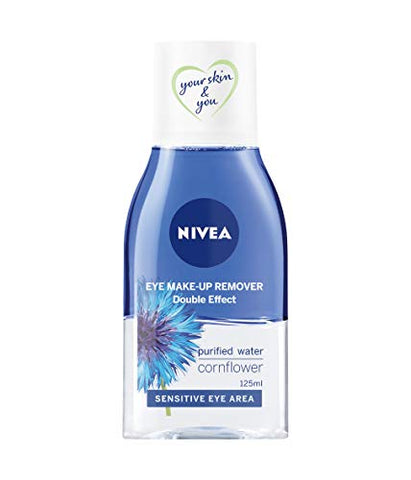 NIVEA Double Effect Eye Make-Up Remover - Pack of 6