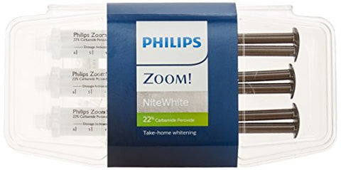 Philips Zoom Nite White 22% 3 Syringes