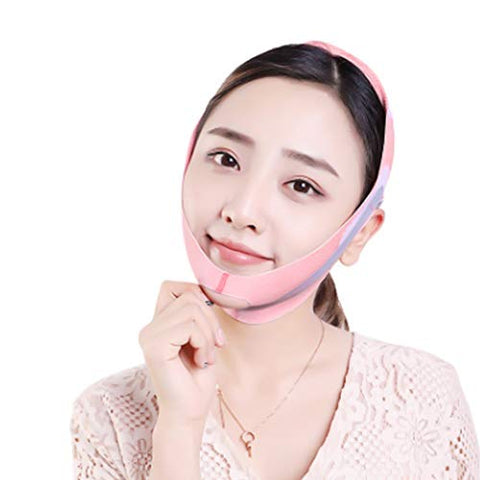 Face Lifting Slimming Mask Bandages, Firming Facial with massage silicone pad, V-line Belt Facial Mask, Facial Double Chin Care Face Belts for Lift Face Belt Tighten Skin