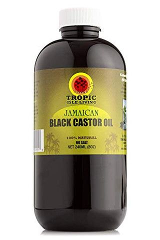 Tropic Isle Living   Jamaican Black Castor Oil   Plastic Pet Bottle (8 Ounce)