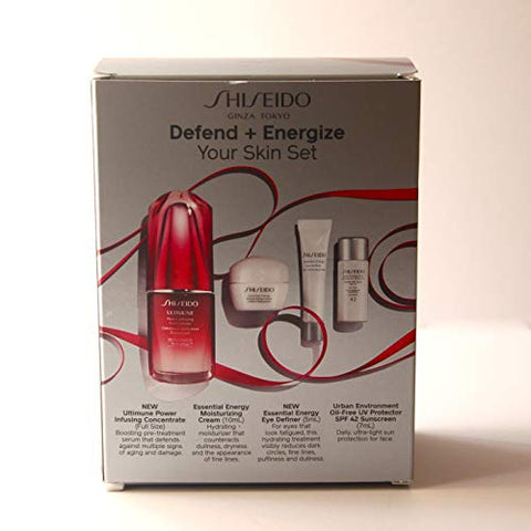 SHISEIDO Defend + Energize Your Skin Set
